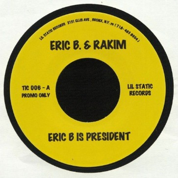 Eric B Is President