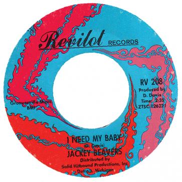 Northern Soul Classics & Rarities - Label Sticker - Jackey Beavers