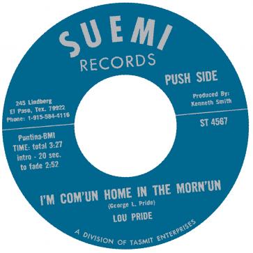 Northern Soul Classics & Rarities - Label Sticker - Lou Pride