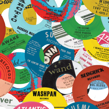 Northern Soul Classics & Rarities - Label Stickers Pack 2