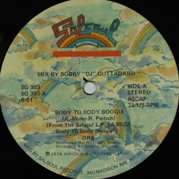 Body To Body Boogie / Moonboots
