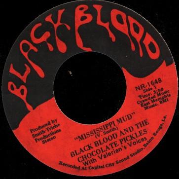 Deep Funk Rarities - Label Sticker - Black Blood