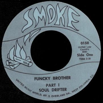 Deep Funk Rarities - Label Sticker - Soul Drifter