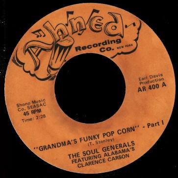 Deep Funk Rarities - Label Sticker - The Soul Generals