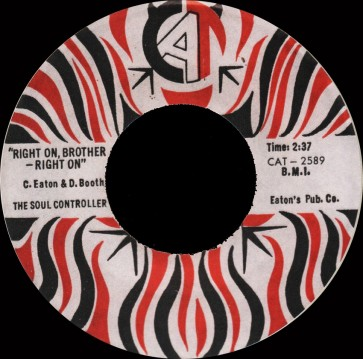 Deep Funk Rarities - Label Sticker - The Soul Controllers