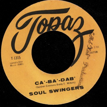 Deep Funk Rarities - Label Sticker - Soul Swingers