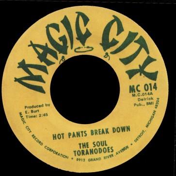 Deep Funk Rarities - Label Sticker - The Soul Toranodoes
