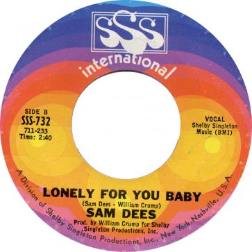 Northern Soul Classics & Rarities - Label Sticker - Sam Dees