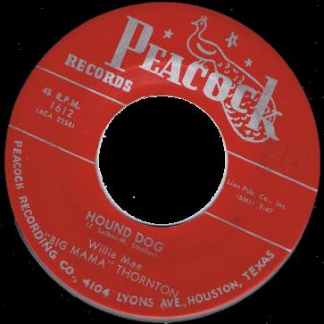 RnB Classics & Rarities - Label Sticker - Big Mama Thornton