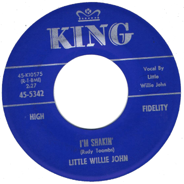 RnB Classics & Rarities - Label Sticker - Little Willie John