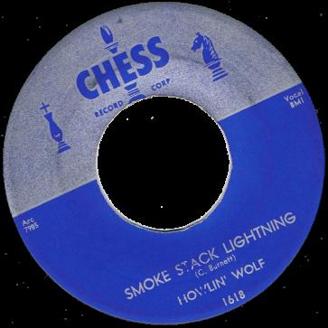 RnB Classics & Rarities - Label Sticker - Howlin' Wolf