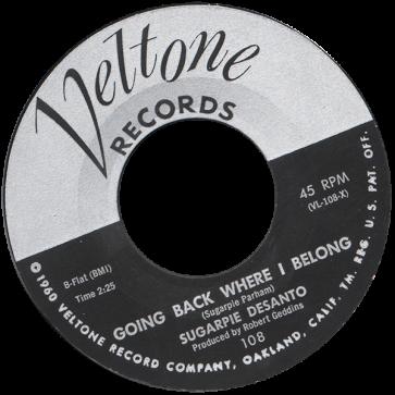 RnB Classics & Rarities - Label Sticker - Sugarpie Desanto