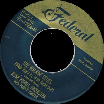 RnB Classics & Rarities - Label Sticker - Jesse Powell