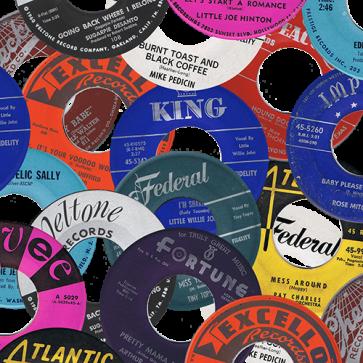RnB Classics & Rarities - Label Stickers Pack 1