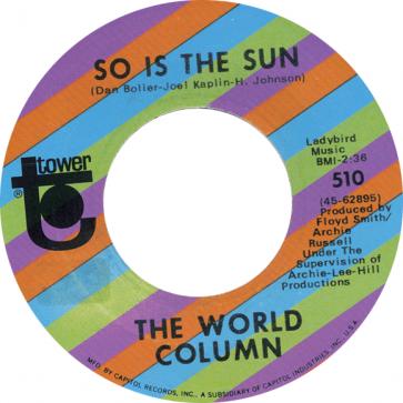 Northern Soul Classics & Rarities - Label Sticker - The World Column