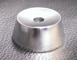 Aluminium 45rpm Centre Adaptor Square