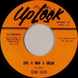 Give A Man A Break / I'll Come Running Back