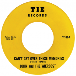 Northern Soul Classics & Rarities - Label Sticker - John & the Weirdest