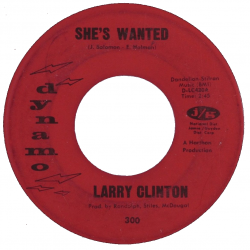 Northern Soul Classics & Rarities - Label Sticker - Larry Clinton