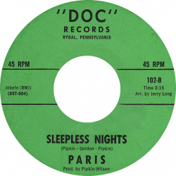 Northern Soul Classics & Rarities - Label Sticker - Paris