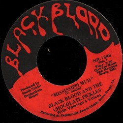 Deep Funk Rarities - Label Sticker - Black Blood