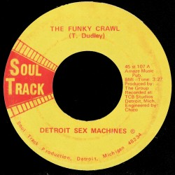 Deep Funk Rarities - Label Sticker - Detroit Sex Machines
