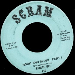 Deep Funk Rarities - Label Sticker - Eddie Bo