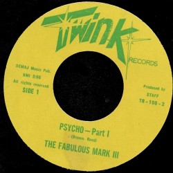 Deep Funk Rarities - Label Sticker - The Fabulous Mark III