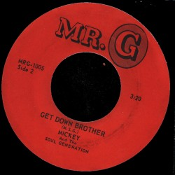 Deep Funk Rarities - Label Sticker - Mickey & the Soul Generation