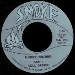 Deep Funk Rarities - Label Sticker - Soul Drifter