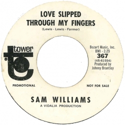 Northern Soul Classics & Rarities - Label Sticker - Sam Williams