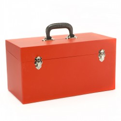 NEW Large Double All Red 45 Record Box