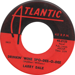RnB Classics & Rarities - Label Sticker - Larry Dale