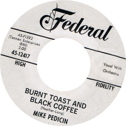 RnB Classics & Rarities - Label Sticker - Mike Pedicin