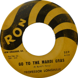 RnB Classics & Rarities - Label Sticker - Professor Longhair