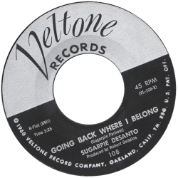 RnB Classics & Rarities - Label Sticker - Sugarpie Desanto