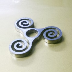Stainless Steel 45 Adaptor Spiral
