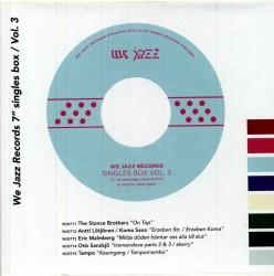 "We Jazz Records 7"" Singles Box: Vol 3"